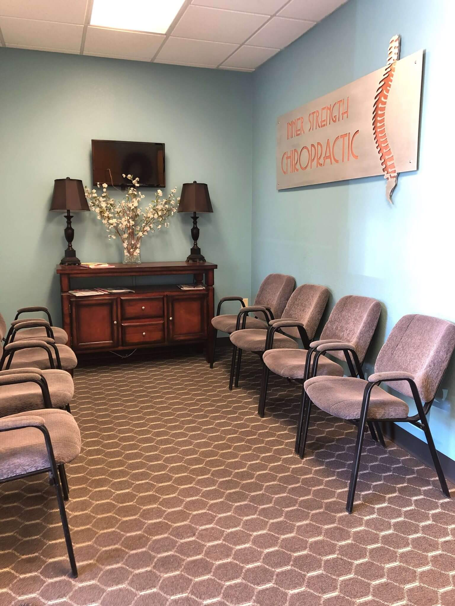 Inner Strength Chiropractic office