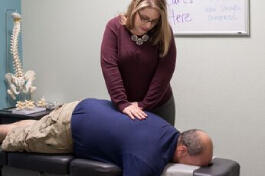 Therapetic chiropractic care